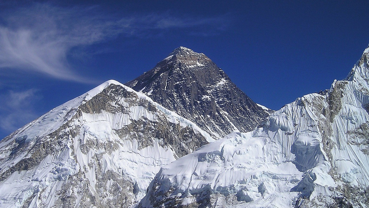 Mount Everest. Fot. www.pixabay.com/photo-413 (domena publiczna).